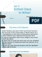 Chapter 03- School Days in Binan