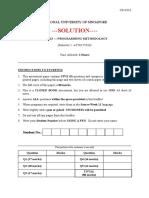 Cs1101s Exam 2017 Solution
