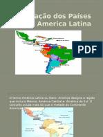 A Formação Dos Países Da America Latina