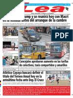 Periódico Lea Viernes 30 de Noviembre Del 2018