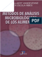Metodos de Analisis Microbiologicos de Alimentos Corrie a. Ribes M.