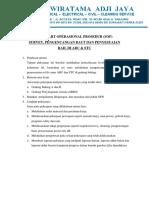 4. SOP Survey, Pengencangan Baut