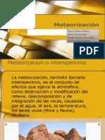 METEORIZACION DE ROCAS