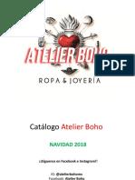 Catálogo NAVIDAD Atelier Boho 2018