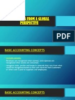 Accounting From a Global Perspective