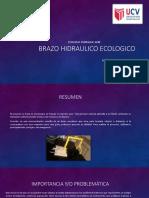Brazo Hidraulico Ecologico