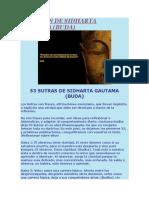 53 Sutras de Sidharta Gautama