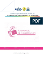 PORTADA PORTAFOLIO EDUCACION