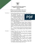 Kepmenkes No.129 Tahun 2008 Standar Pelayanan Minimal RS.doc