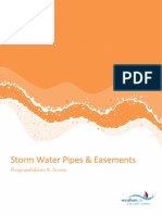 Storm Water Drain & Easement - Responsibilities & Access (A1793557)