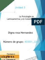 Diapositivas - La Psicología en Latinoamérica y en Colombia. (1)