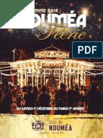 Programme de Nouméa féérie 2018