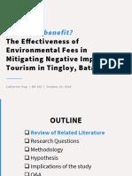 Environmental Fees Term Paper PPT