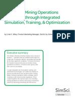 WhitePaper SE-SimSci AccelerateMiningOperationsExcellence 01-15