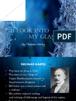 I Look Into My Glass