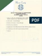 MCBOC 2018 1203 Agenda Packet