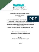 tesis Modelo Leon Solano, Luis Enrique