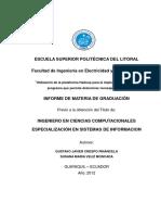 Plataforma de Programa Spam