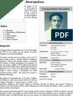 Curuppumullage Jinarajadasa - Wikipedia, La Enciclopedia Libre