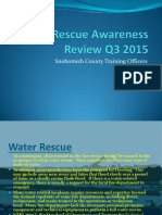 2015 q3 Water Rescue Awareness Review q3 2015