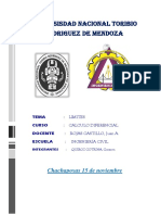 Informe de Calculo Unidad I