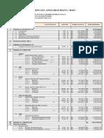 Daftar Kuantitas Dan Harga