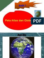 Peta, Atlas Dan Globe