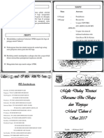 Buku Program Majlis Dialog Prestasi