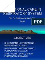 Nutritional Care in Pulmonary Kia