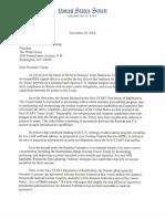 New START Letter from Republican Senators to President Donald Trump