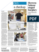 Local News- River gets a checkup