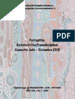 Petroglifos Revista Critica Transdisciplinar Vol 1 No1