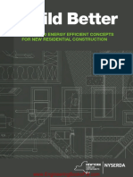 Build Better a Guide to Energy Efficient Concepts for New Residential Construction