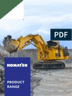 Komatsu - Mining Division - Product Range