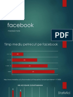 Facebook - A social media analysis ( Analiza social media )