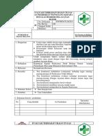 8.7.4.4 Sop Evaluasi Terhadap Uraian Tugas Dan Pemberian Wewenang