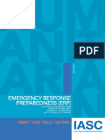 Emergency Response Preparedness