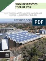 Greening University Toolkit V2.0