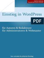 Handbuch - Vladimir Simovic - Einstieg in WordPress 3.5