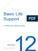 Standard 12 - Basic Life Support