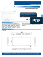 IT ES1024 IU 4F Datasheet - SWITCH ETHERNET UNMANAGED INDUSTRIAL