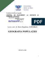 8 Geografia Populației 2016
