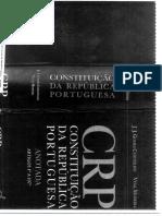 CRP Anotada Gomes Canotilho Parte I