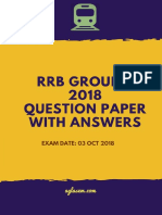 Group D RRB OCt 03