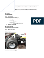 Basic Terminologies of Suspension and tyres