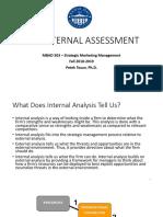 Week 4 Internal Analysis