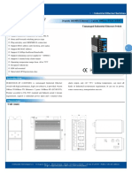 It Es3016 Iu 2f 12 48vac Datasheet - SWITCH ETHERNET UNMANAGED INDUSTRIAL