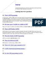 Lisp Programming Interview Questions-pdf
