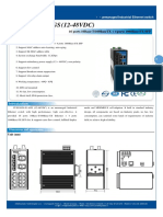 It Es3020 Iu 4gs 12 48vdc Datasheet - SWITCH ETHERNET UNMANAGED INDUSTRIAL