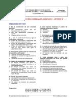 Selectividad Economia de La Empresa Junio 2010